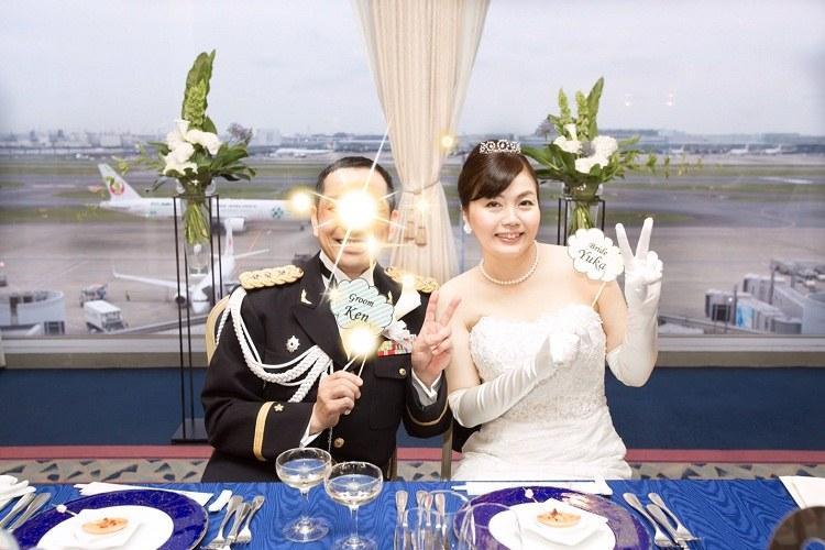 羽田空港GALAXY HALL,披露宴