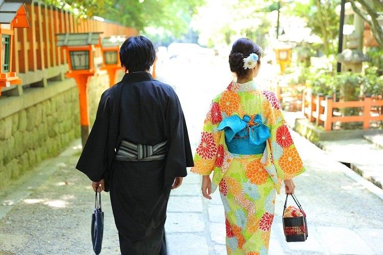 前撮り,京都