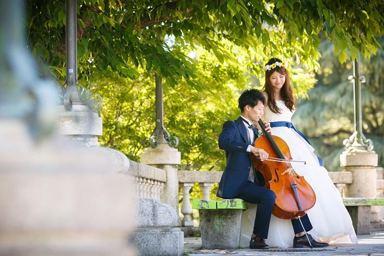前撮り,the sky wedding,名古屋