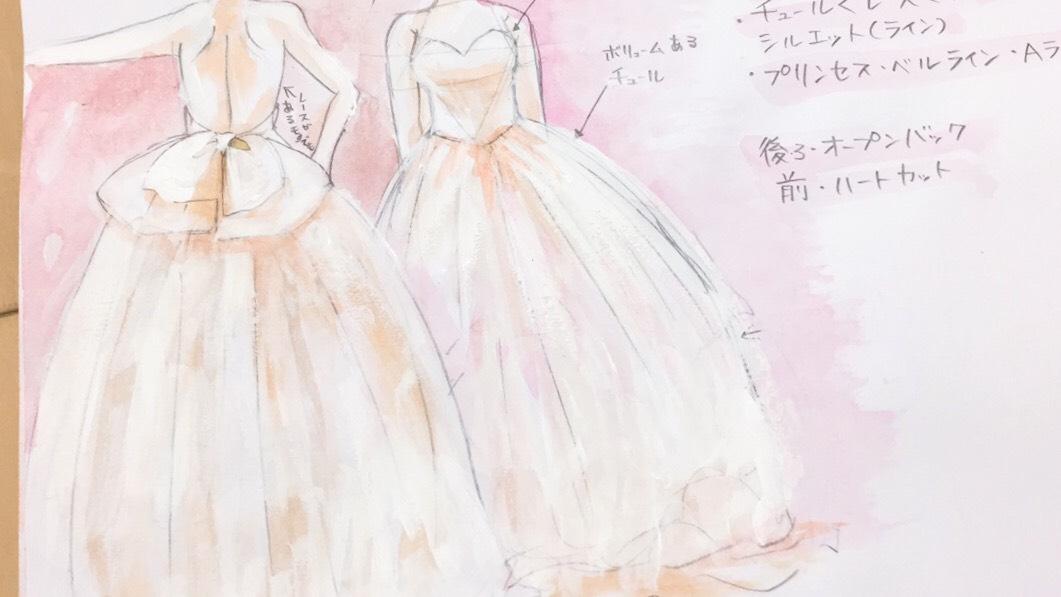 ドレス の 絵