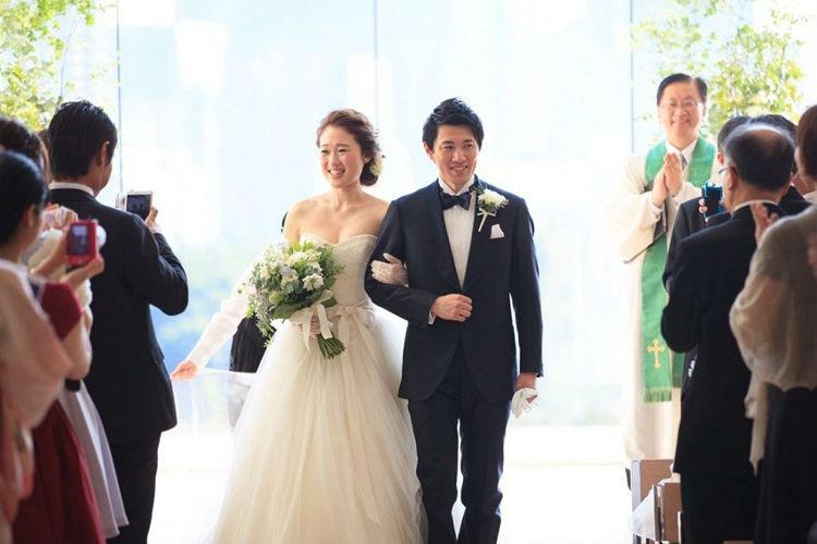 パレスホテル東京,結婚式,キリスト教式,集合写真
