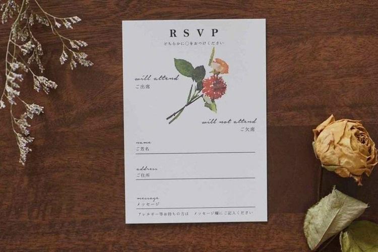 結婚式,招待状,アイデア