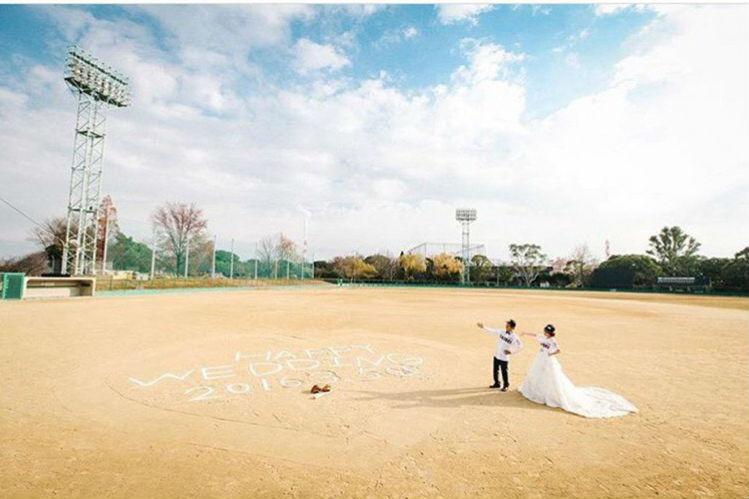 前撮り,野球