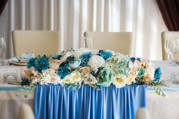 メインテーブル,装花,コーディネート