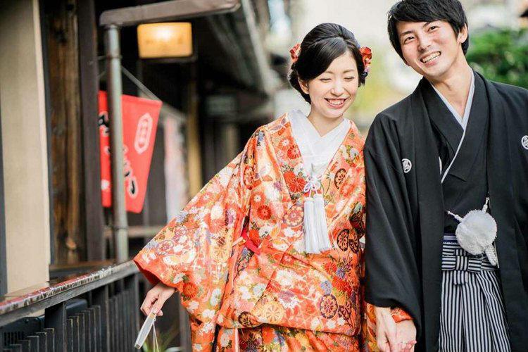 和装,前撮り,京都