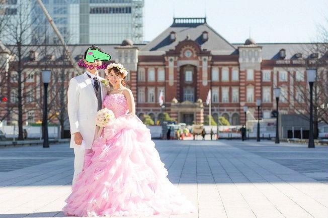 東京駅,前撮り