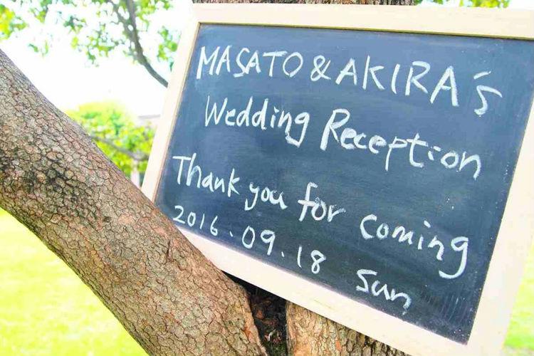 結婚式,カウントダウンフォト