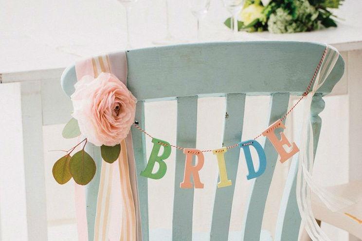 結婚式,チェアサイン,手作り