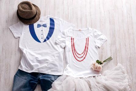 ウェディングTシャツ