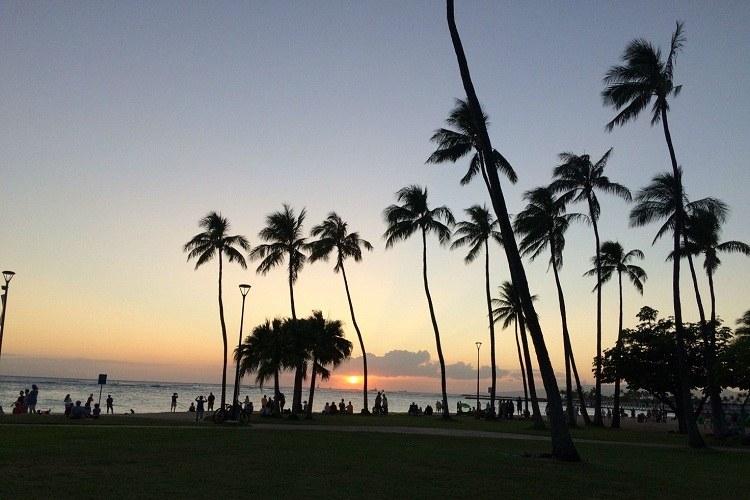 ハワイ,前撮り,新婚旅行,アメリカンホリデーズ