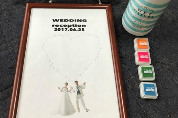 手作りアイテム,結婚式
