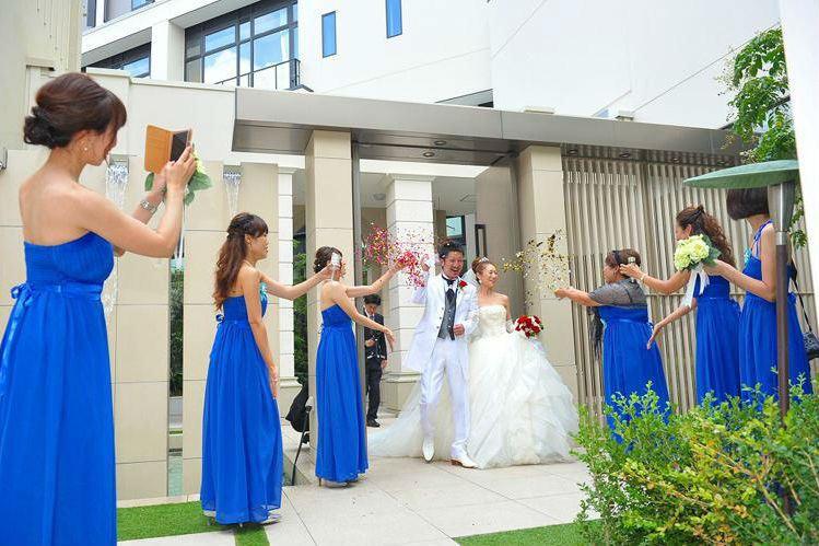 ブライズメイド,結婚式