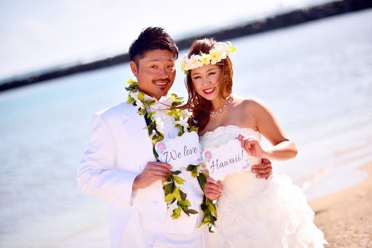 ハワイ,前撮り