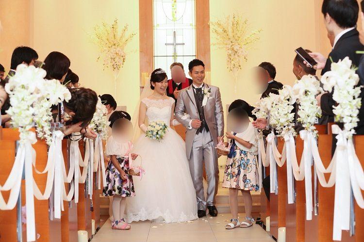 結婚式,ホテルインターコンチネンタル東京ベイで教会式,