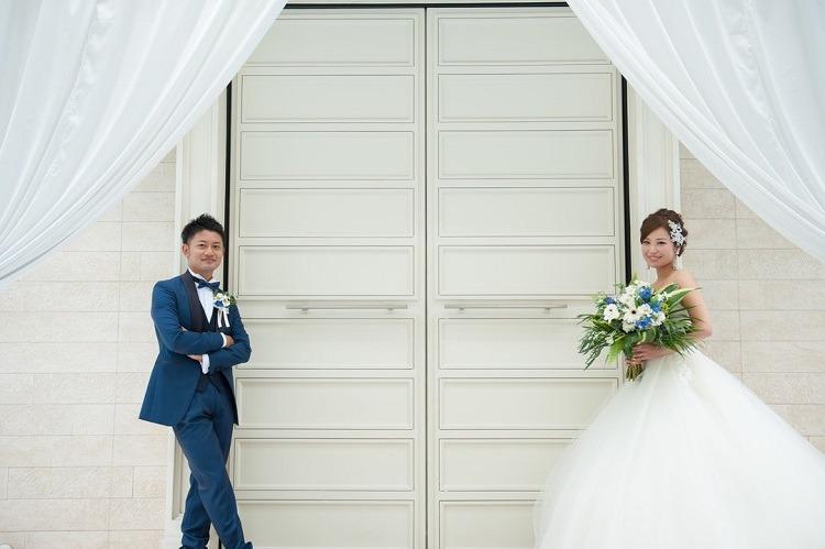 アクアガーデンテラスで教会式,結婚式