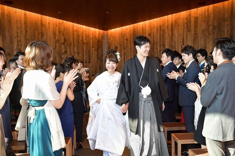 あっという間の結婚式でしたが人との出会いや繋がりを大切にした人前式が叶った