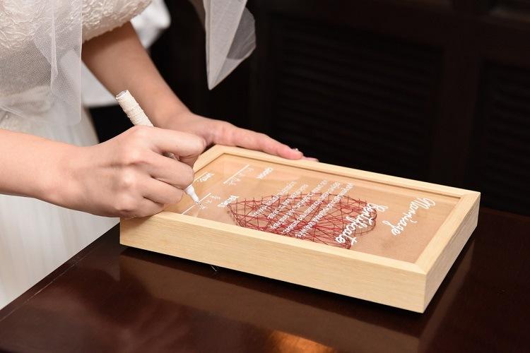 ヒルサイドクラブ迎賓館八王子,手作りアイテム,結婚証明書