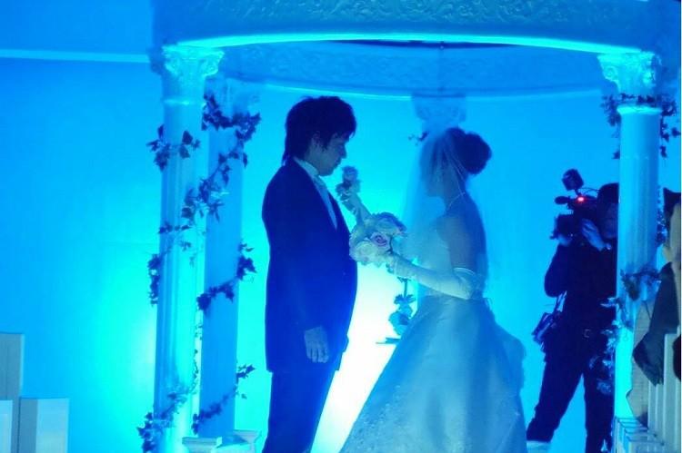 結婚式のブートニアセレモニーは練習の甲斐あってスムーズな進行