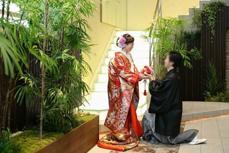 アルカンシエル(luxe mariage)名古屋,前撮り,和装