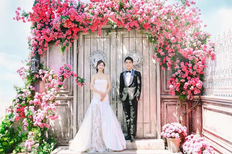 ロマンチックで綺麗な韓国ウェディングフォト*スタジオ選びがポイント