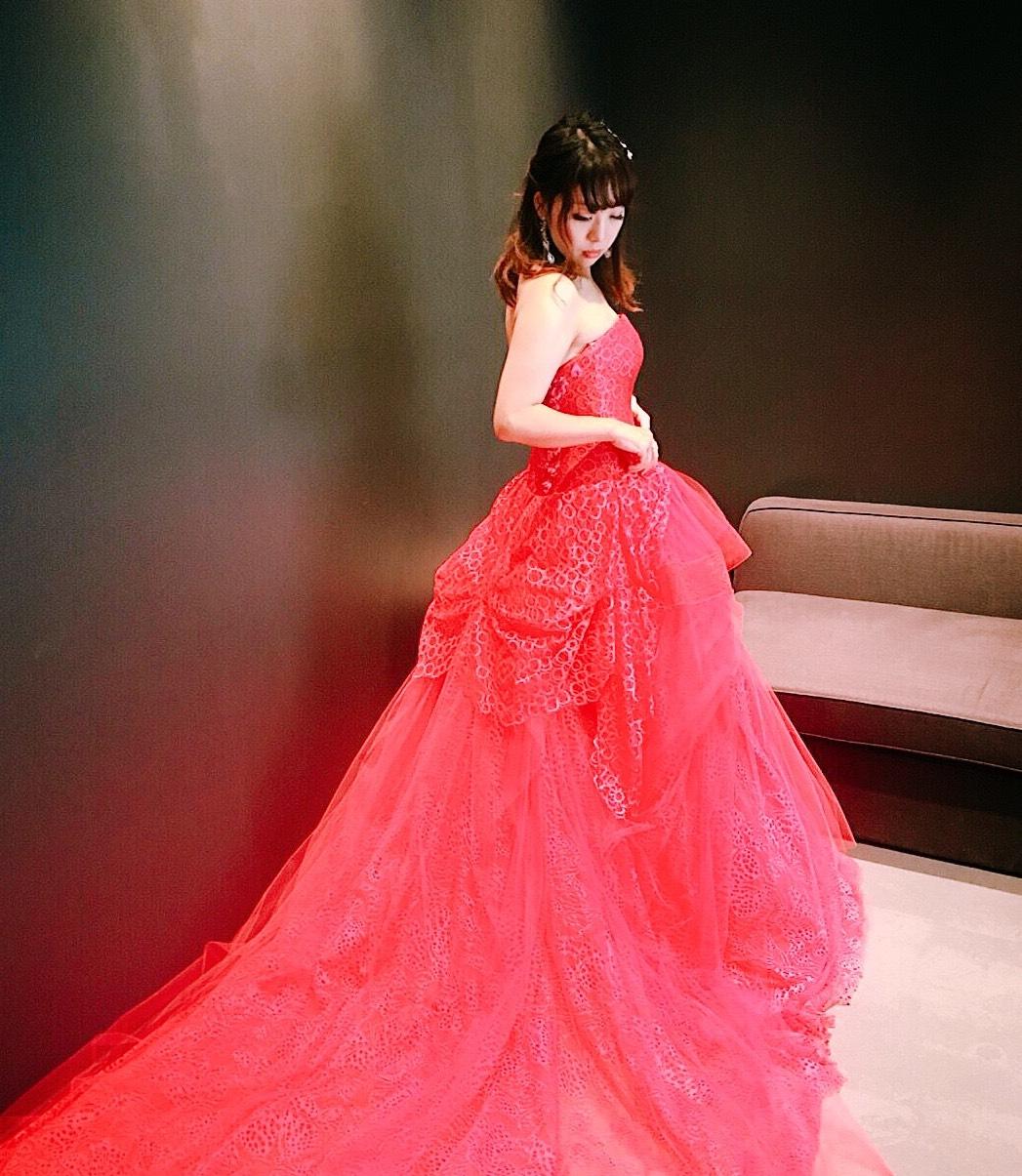 ドレス迷子必見..♥♡虜になったヴェラウォンのドレス試着レポを